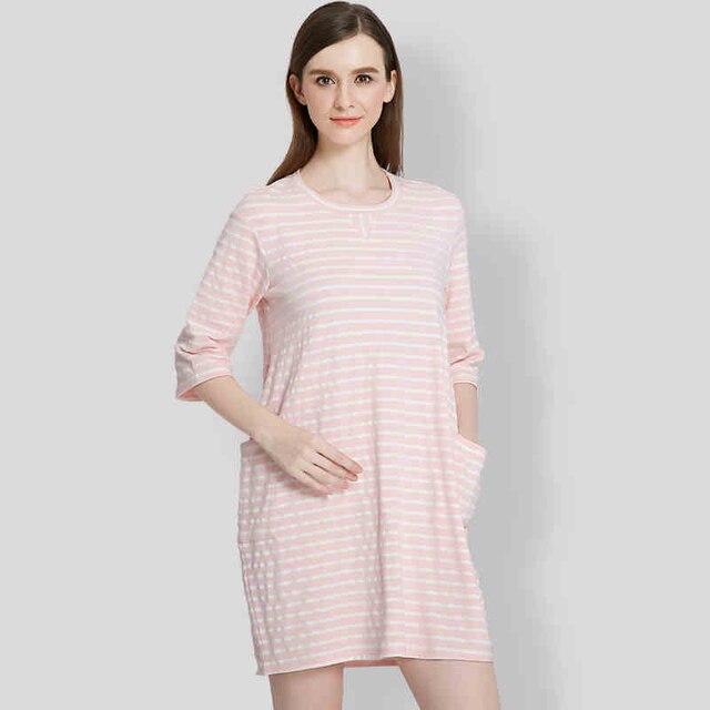 Formalen mutterschaft tunika kleid dress nette schwangere pflege ...