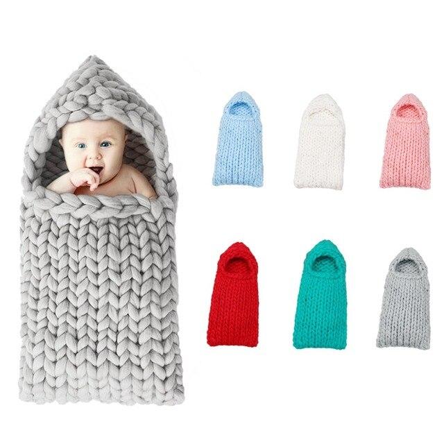 Tutuyu bebé Niños Niñas dormir lana recién nacido caso lana capullo ...