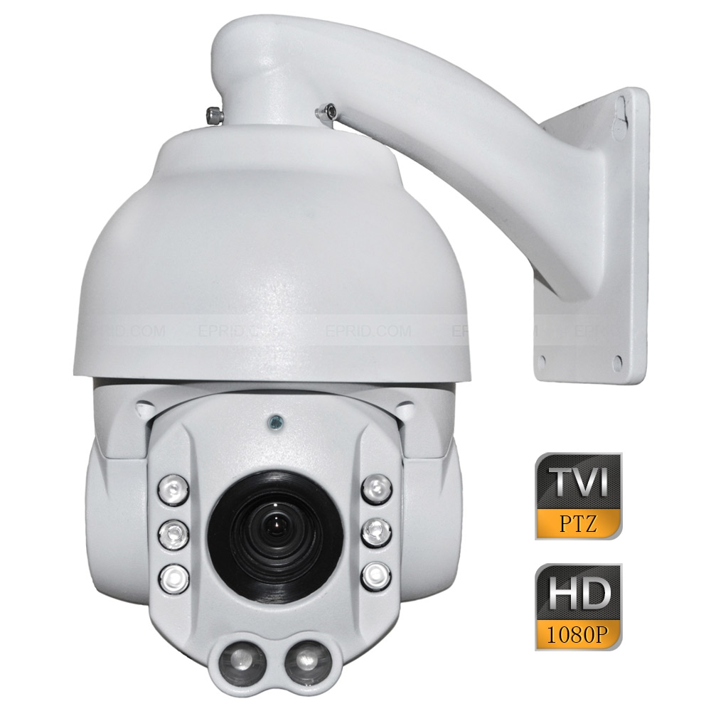 4inch 2MP 1080P HD TVI IP66 High Speed Dome PTZ Camera 10x Optical Zoom Wall Mount 1080p ptz dome camera cvi tvi ahd cvbs 4 in 1 high speed dome ptz camera 2 0 megapixel sony cmos 20x optical zoom waterproof