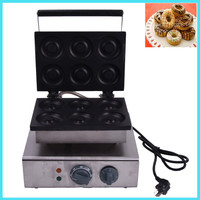 1PC donut maker/ Doughnut maker Small donut making machine stainless steel donuts producer with 6pcs moulds110V / 220V