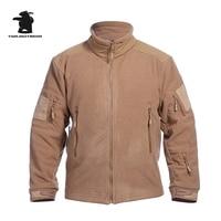 Hot TAD männer Taktische Jacke Stehkragen Designer Dicke Warme Fleece Military Winter Jacken Mantel Männer Freizeit Outwear 3XL CF011