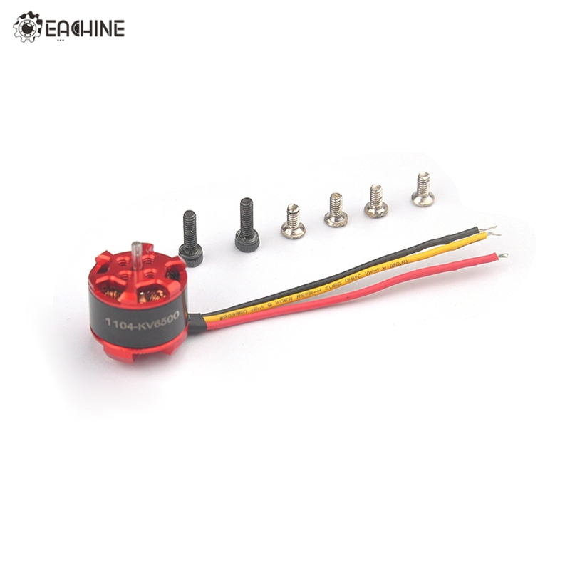 купить High Quality Eachine 1104 6500KV 1-3S Brushless Motor For Eachine for Aurora 90 100 Mini FPV Racer RC Multicopter недорого