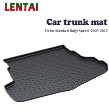 цена на EALEN 1PC rear trunk Cargo mat For Mazda 6 Ruiyi Speed 2009 2010 2011 2012 2013 2014 2015 2016 2017 Boot Liner Tray Accessories