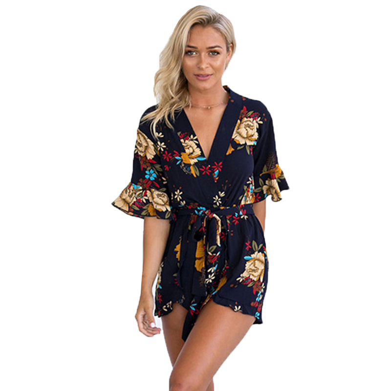 2020 Fashion Women Jumpsuits Rompers Casual European Style Summer Playsuits Elegant Harajuku Vintage Clothing Sexy