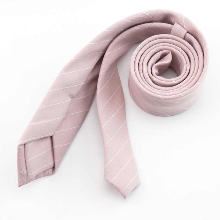 7b156636d0fa ... light pink ties set white stripe tie in men's Pale pink Gravata slim  necktie for man ...
