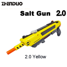 Zhen Duo Toys Bug Salt Fly Gun Salt Pepper Bullets Blaster Airsoft for Bug Blow Guns Creative Strap Catching mosquitoes Model S