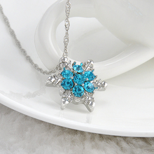 Best Cheap Vintage Snowflake Necklace for Women