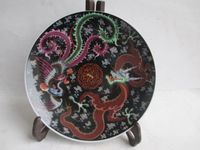 7.99 inch/Ancient Chinese ceramics hand painted, longfeng plates Wedding Decoration