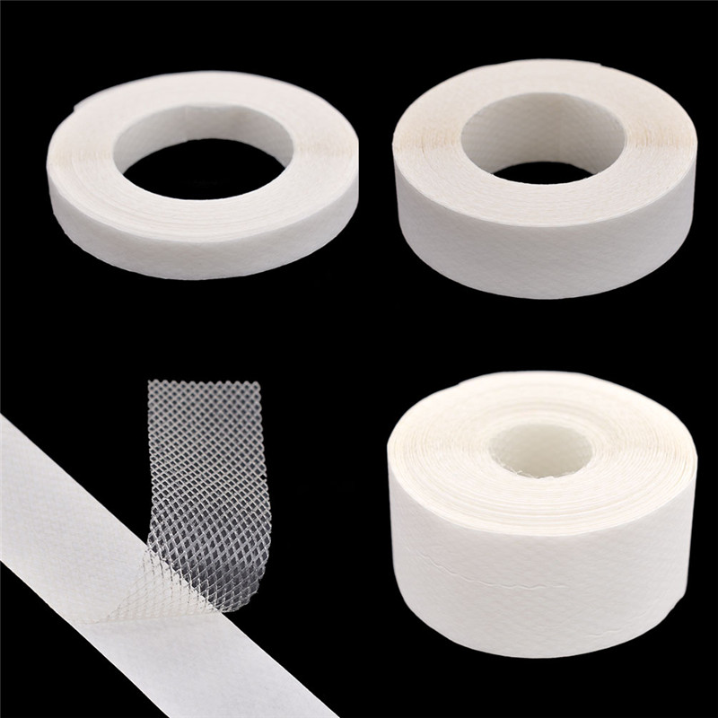 10 Meter Double Side Iron On Tape Fabric DIY Sewing Clothes Mesh Interlining Lining Adhesive Interlining For Garments