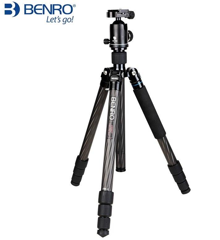 BENRO C3282TV3 trépied en fibre de carbone professionnel trépied appareil photo reflex monopode-in Trépieds from Electronique    1