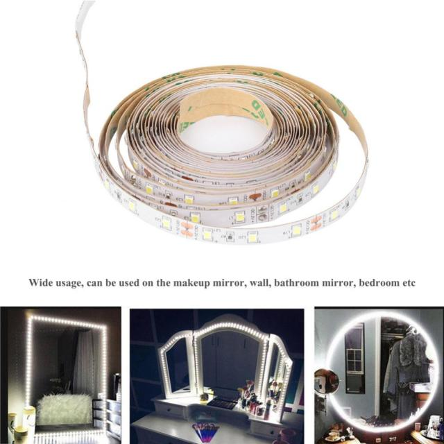 13ft/4M 240 LEDs Led Vanity Mirror Dimmer Lights Strip Night Lamp ...
