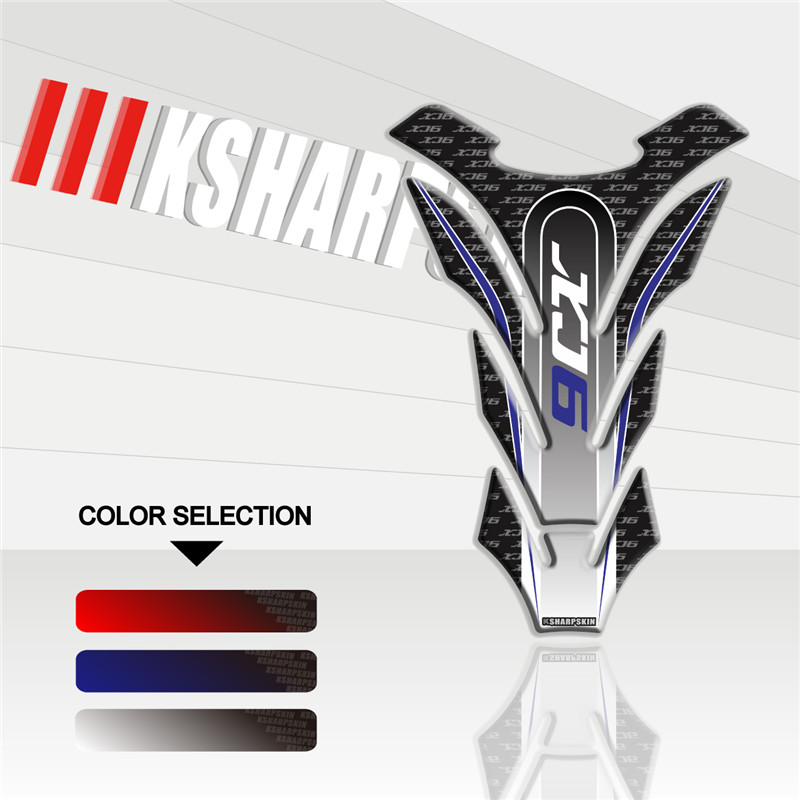 New Sale Motorcycle 3D Fuel Tank Pad Protective Decorative Decals Fit YAMAHA Sticker XJ6