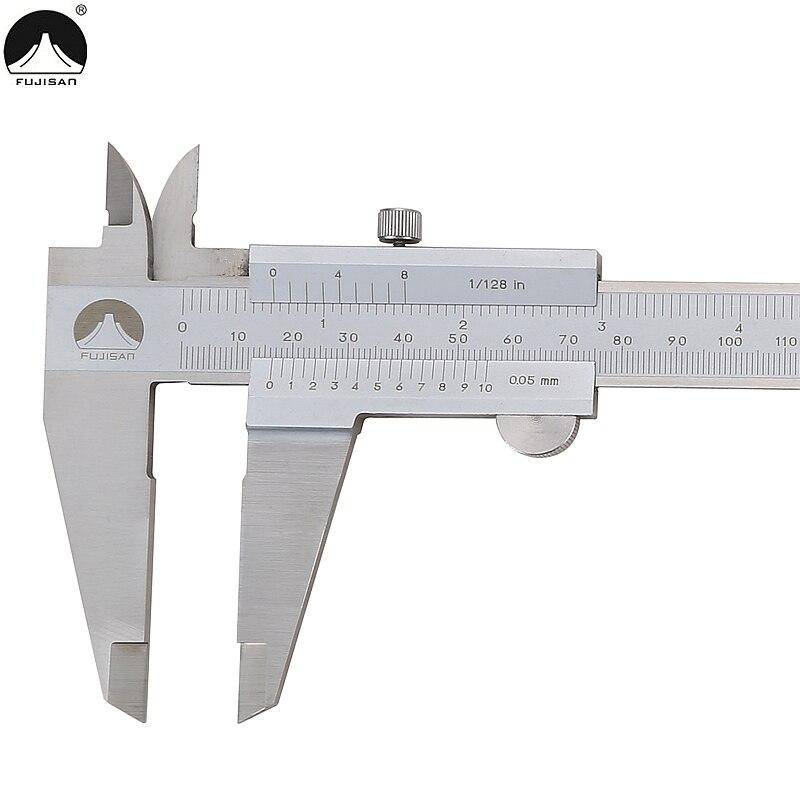 Pied à coulisse FUJISAN 0-300mm/0.05 1/128in étriers micromètre en acier inoxydable jauge outils de mesure