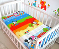 Promition! kitty mickey Baby Fitted Sheet  Baby Bedding Set Newborn Crib Bedding Cartoon ,120*60/120*70cm