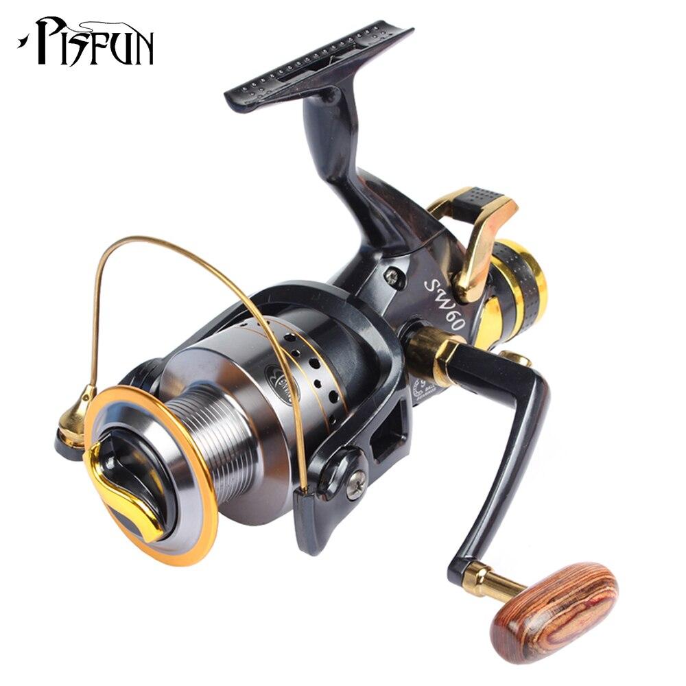 Sw spinning fishing reel reel 5 2 1 9 1bb saltwater for Carp fishing reels