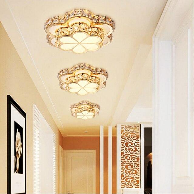 Attraktiv Kreative Clover Smart Farbwechsel Kristall LED Eisen Acryl Deckenleuchte  Flur Belüftung Wohnzimmer Dekoration Beleuchtung