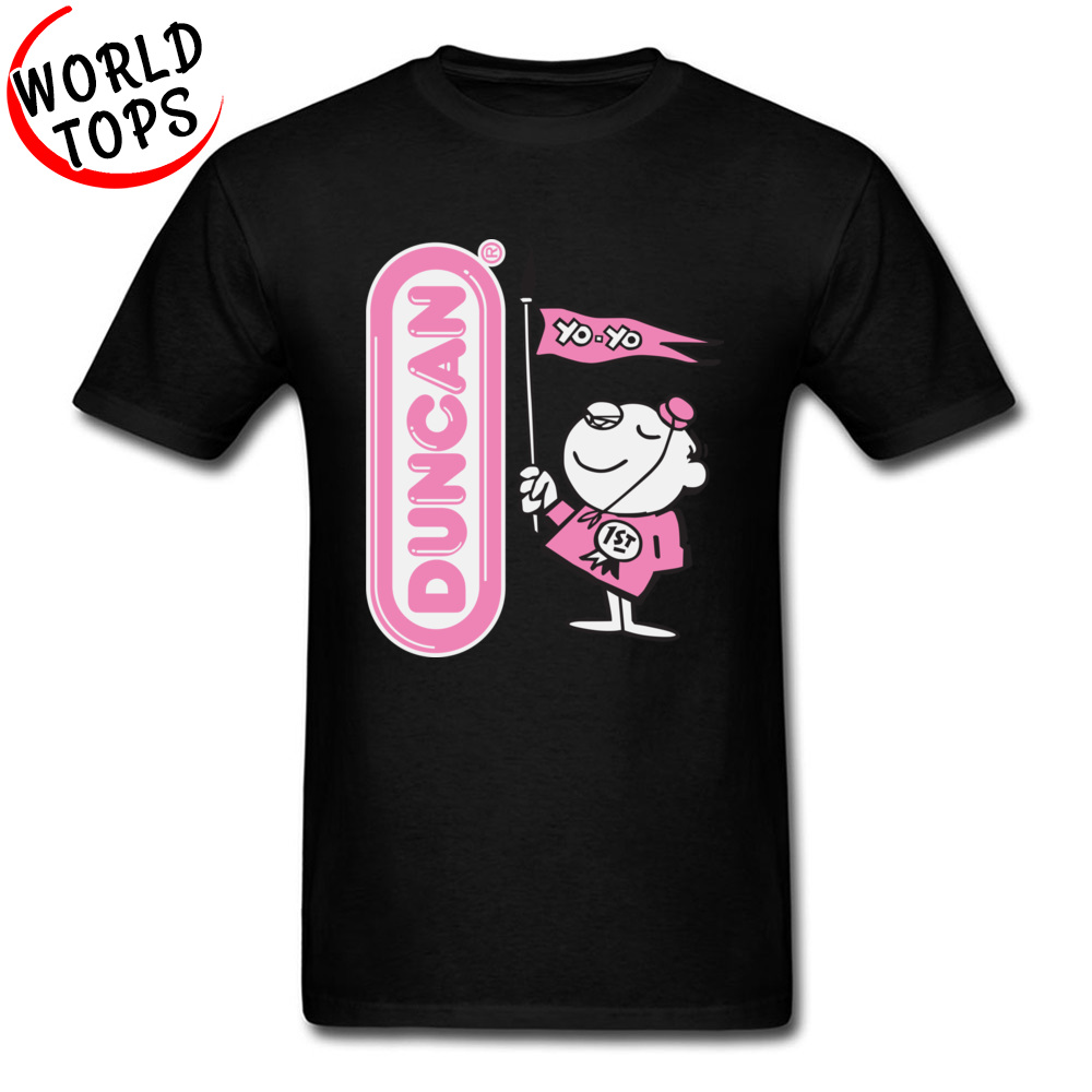 Duncan Bellhop Funny Tops T Shirt Cartoon Round Neck Simple Style Peru Sleeve 100% <font><b>Army</b></font> <font><b>Men</b></font> T Shirts Anime <font><b>Tshirts</b></font> <font><b>Men</b></font> image