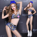 2016 Costumes Ds Steel Tube Dance Hip Hop Sexy Female Dj Nightclub Dance Clothing Jazz Costumes