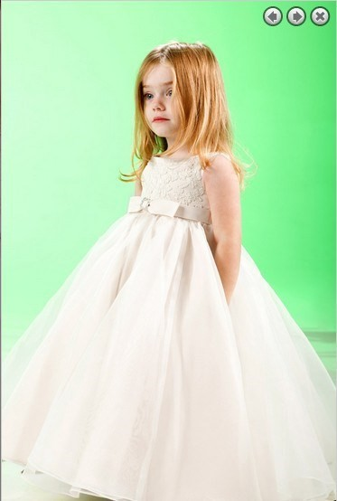 free shipping 2018 Appliques Beaded Ball Gown Cute Pageant Costume for Party Vestido De Daminha   Flower     Girl     Dresses