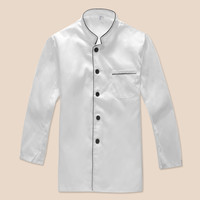 2017 Chef Uniforms Chefs Clothing For Men Women Work Food Services Cooking Costume Coat Long Sleeve