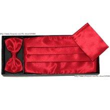 2019 wide elastic wedding belt stretch cummerbunds set