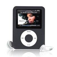 Ssdfly 뜨거운 높은 품질의 MP4 이어폰 1.8 인치 스크린 LCD 미디어 비디오 게임 영화 FM 라디오 번째 세대 MP4 음악 플레이어