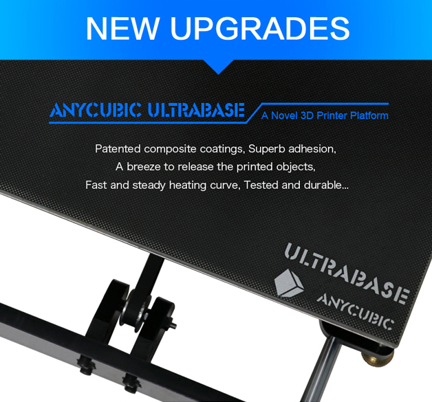 Anycubic 3D printer impresora 3d Newest Upgrade imprimante 3d Prusa i3 3d printer Kit High Precision Ultrabase Platfrom (3)