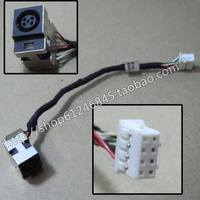 New DC Power Jack With Cable For HP G6 Series DD0R18AD020 DD0R18AD010 Jack Socket Power Connector
