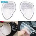 1 pares de Almohadillas para los Dedos de Silicona Médica Transparente Antepié Pad Gel Pies Talón Apretones Cushion Pad Plantilla del Zapato Del Cuidado de Pie Z09601