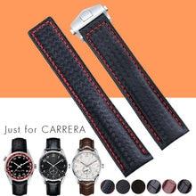 Ремешок из натуральной кожи для SamsungWatch, резиновый сменный Браслет для мужских часов, черный синий коричневый, 19 мм/20 мм/22 мм