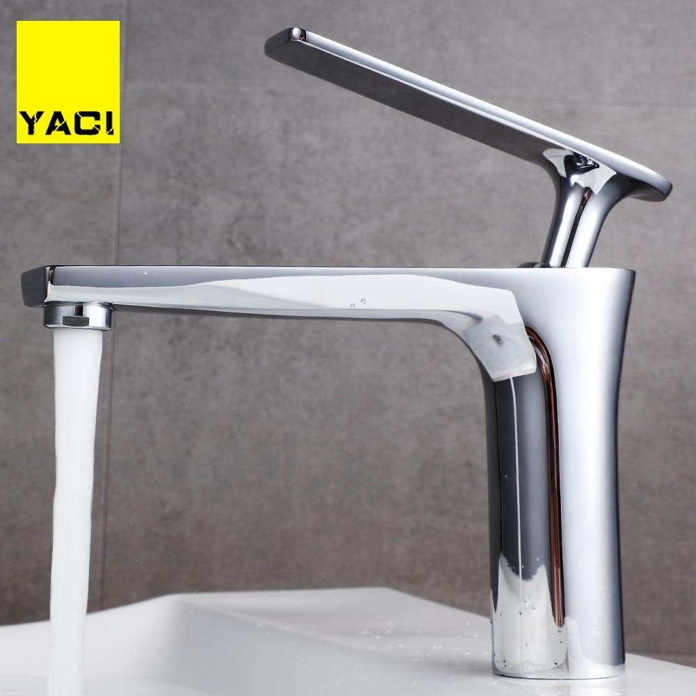 Grifo Salle De Bains noir robinet classique style bassin installé mélange d'eau chaude et froide mitigeur robinet d'or