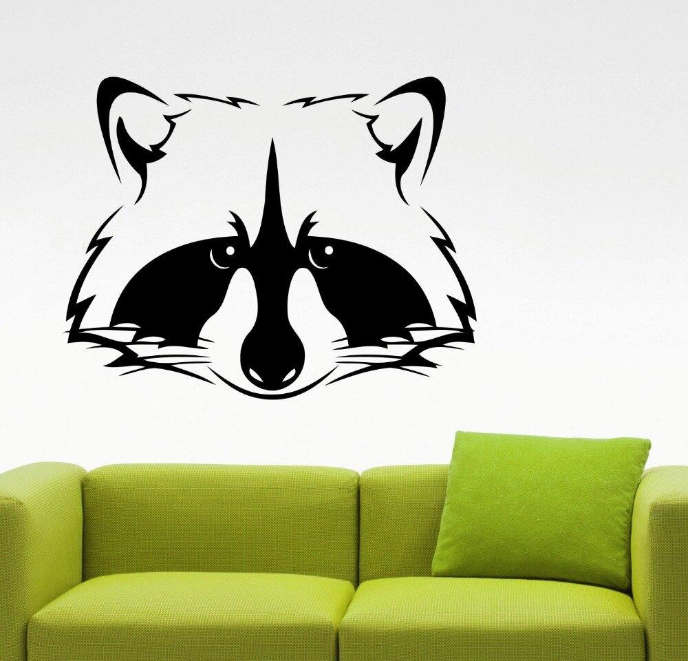ΞFox cabeza patrón pared salvaje animales serie Art etiqueta de la ...