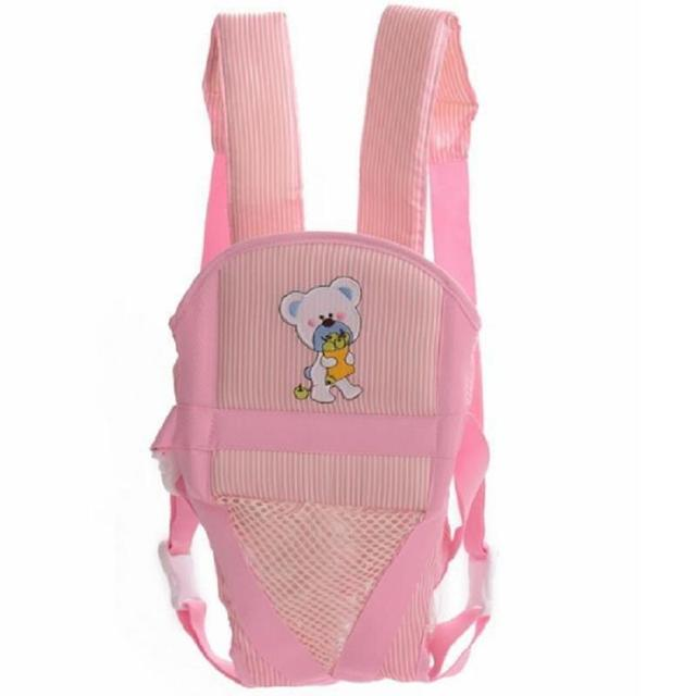 Cotton Breathable Infant Baby Carrier Sling Wrap Rider Backpack Front Back Pack