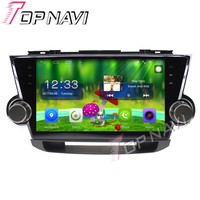 Topnavi 10.1'' Quad Core Android 6.0 Car GPS Navigation For TOYOTA Highlander 2009 2010 2011 Radio Audio Multimedia ,No DVD