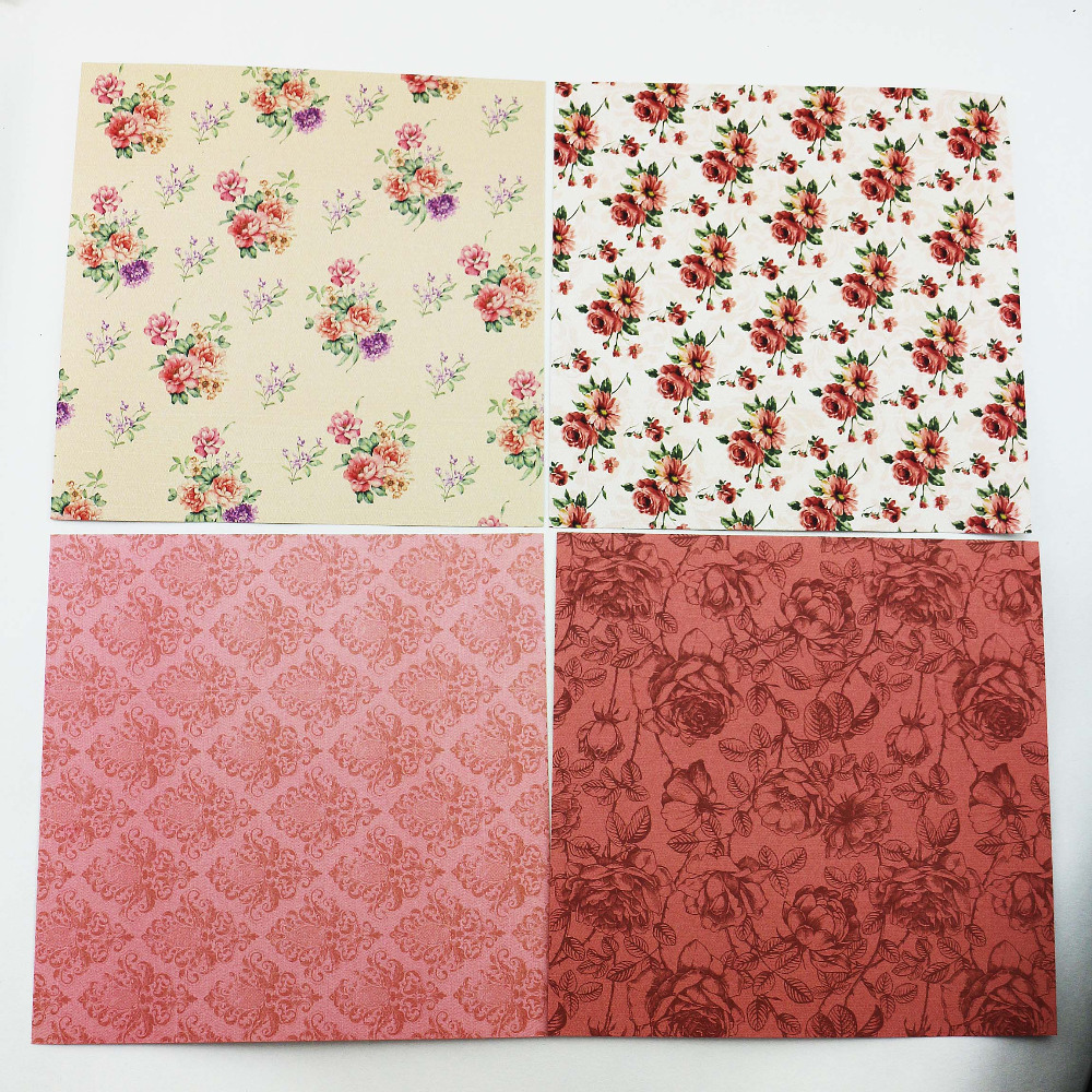 Sweet Delicate 6inch Scrapbooking Paper Pack Of 24sheets Rose