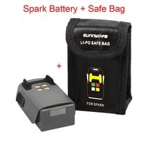 1PCS For DJI Spark Drone Intelligent Flight Battery & Spark Battery Safe Bag Futural Digital Drop Shipping JULL25