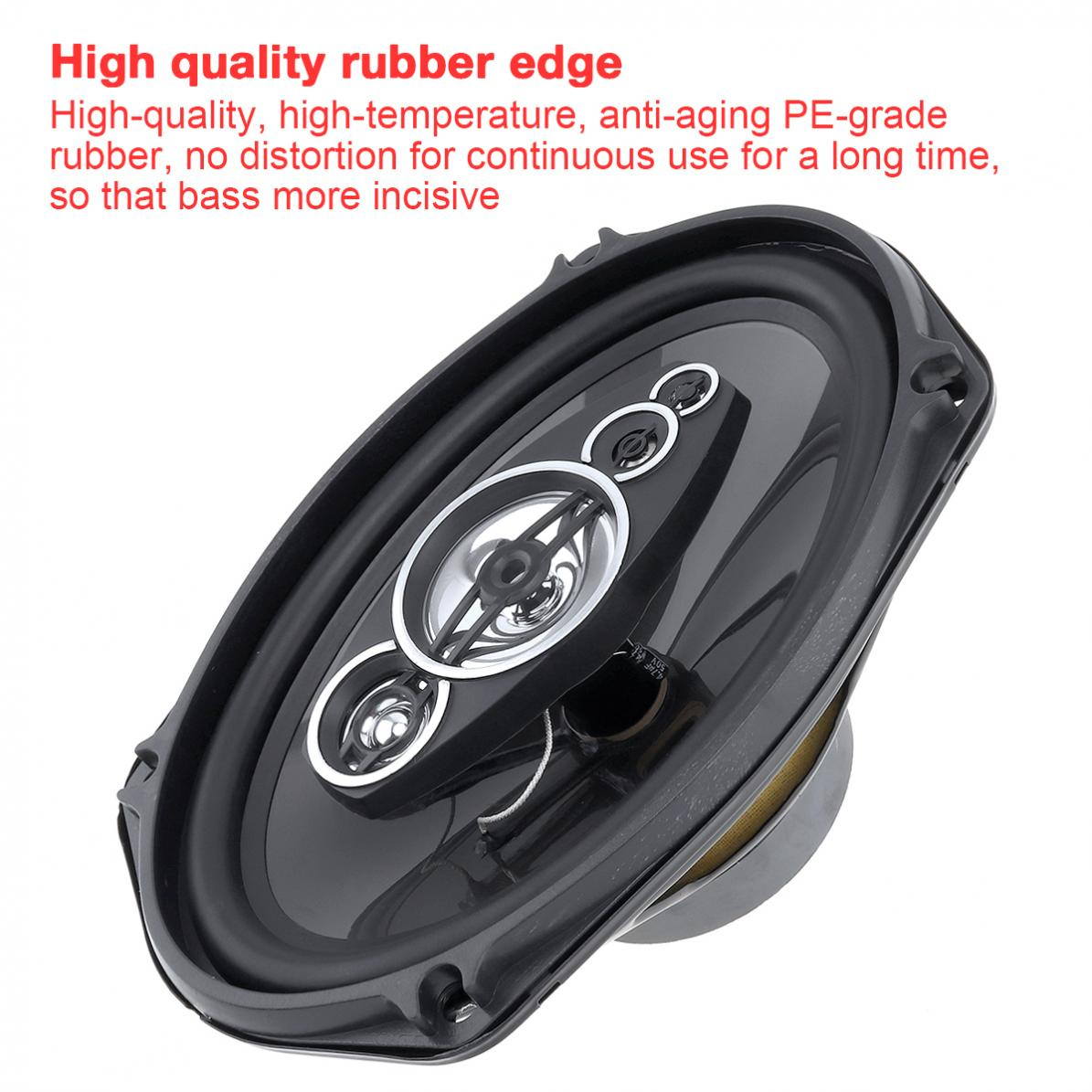 2pcs Auto Car bass Speaker 800W Car Coaxial speaker Audio Music Stereo Full Range Frequency Hifi Speakers for car stereo in Coaxial speakers from Automobiles Motorcycles