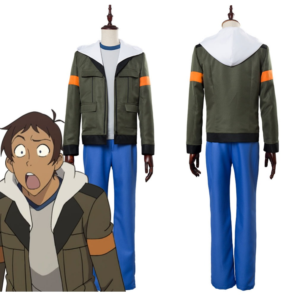 Voltron Legendary Defender of the Universe Lance Charles McClain Cosplay Costume Adult Halloween Carnival Cosplay Costume