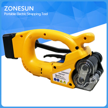 ZX01 Portable Electric Strapping Tool Battery Powered Plastic Friction Welding Hand Strapping Tools for 16-19MM strap