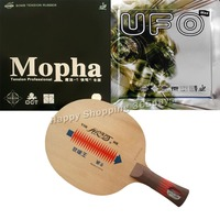pro pingpong racket Galaxy YINHE W 5 Table Tennis Blade with Bomb UFO and Mopha Rubber for a Racket