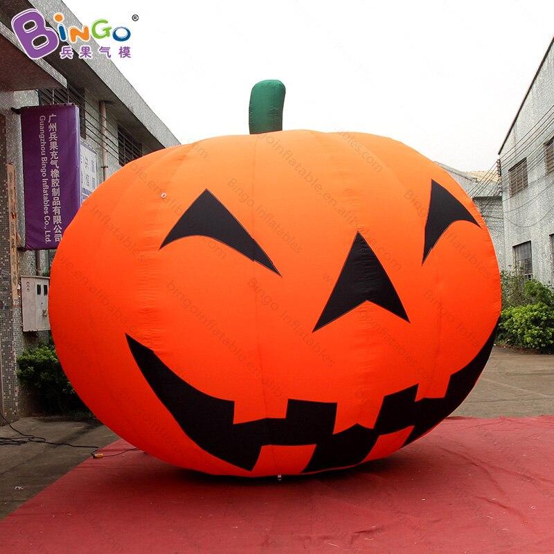 Ballon gonflable géant de citrouille de décoration d'halloween-jouet