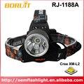 BORUIT RJ-1188A Cree XM-L2 3-Mode 12000 Lumens LED Headlamp (2 x 18650)