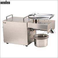 Xeoleo 1500W Stainless steel Oil presser Home use Oil press machine Peanut/Olive oil maker 220V/110V suitable for Sesame/Almond