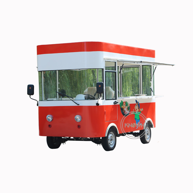 Low price multi function electric food truck ice cream corn kiosk mobile food car for sale