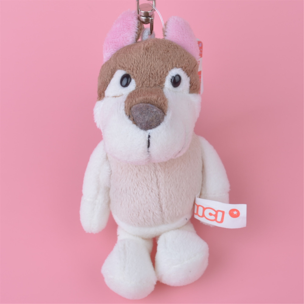 3 Pcs Light Color Husky Dog Small Plush Pendant Toy, Kids Doll Keychain / Keyholder Gift ...