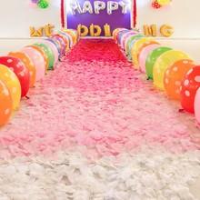 1000pcs Silk Rose Flowers Petals Wedding And Party DIY Decorations Artificial Rose Flower Petals Cheap 9 Colors
