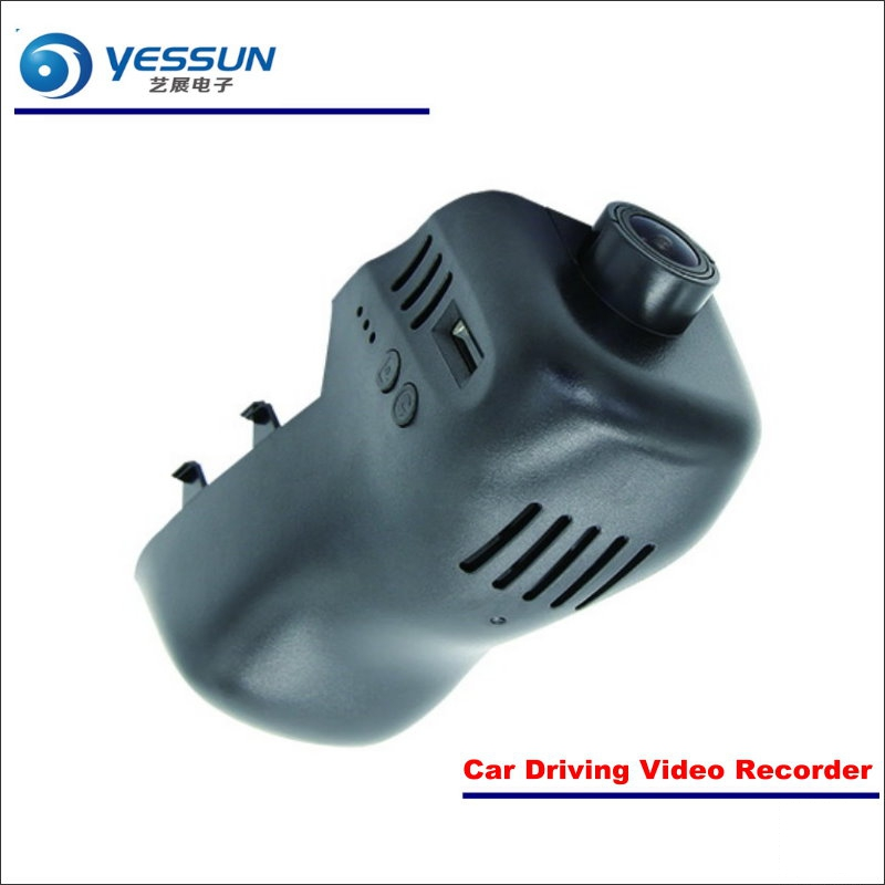 YESSUN Car DVR Driving Video Recorder For Volkswagen VW Touareg Front Camera Black Box Dash Cam - Head Up Plug Play OEM yessun car dvr driving video recorder for buick enclave front camera black box dash cam head up plug 1080p wifi phone app