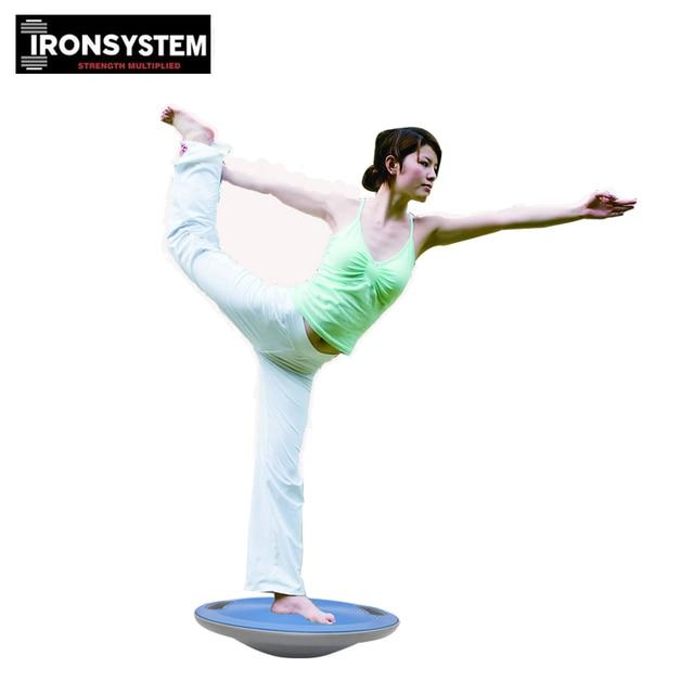 Balance Board Sport Yoga: 40cm ABS Yoga Wobble Balance Board Bear 250kg Stability