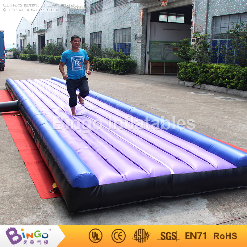 Free Shipping Hot Sale 10mX2m PVC Material Inflatable Large Airtracks for toy sports
