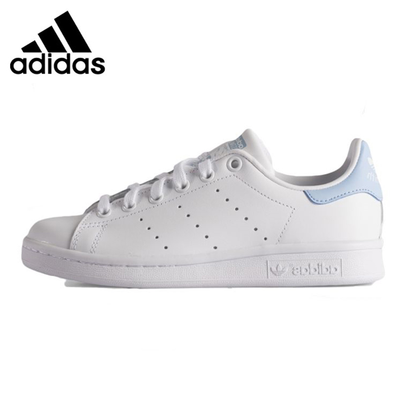 womens adidas stan smith w ba7673 white sky blue womens